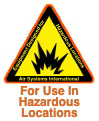 For Use in Hazardous Locations