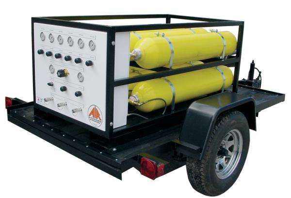 Large Cylinder Air Carts/Trailers