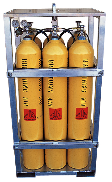 Air Cylinder Storage Racks